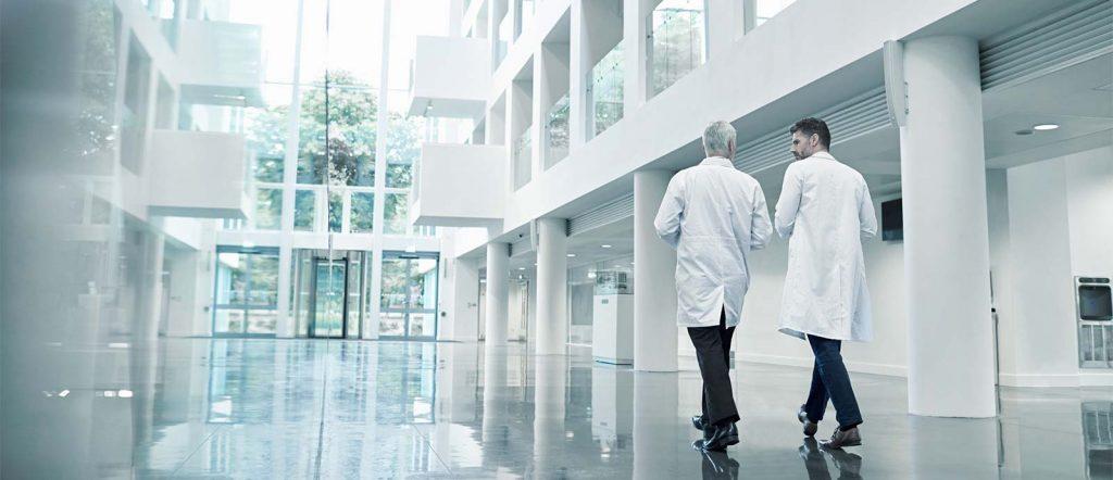 Krankenhäuser mit MEONA